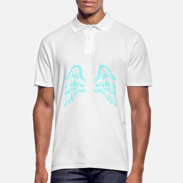 Angel's Wings Angel wings wings - Men's Polo Shirt