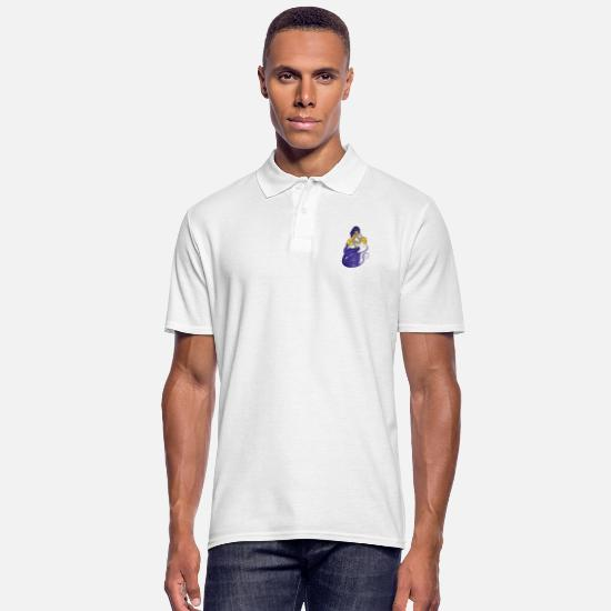 Bestsellers Q4 2018 Polo Shirts - Mermaid - Men's Polo Shirt white