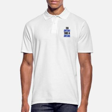 Evening even awesome - Men's Polo Shirt