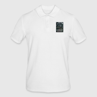 A lonely path - Men's Polo Shirt