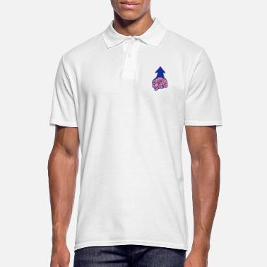 Brain brains brain - Men's Polo Shirt