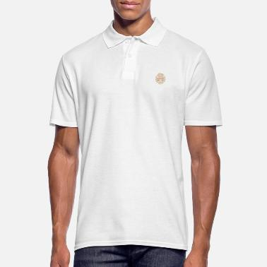Wheel Autumn paints nature in gold - Men's Polo Shirt