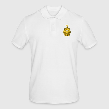 Leopard Cartoon - Mannen poloshirt