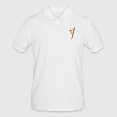 Female martial artist - Men's Polo Shirt