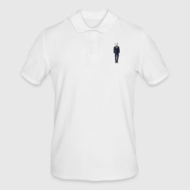 Staffordshire Dog in the Staffordshire suit - Men's Polo Shirt