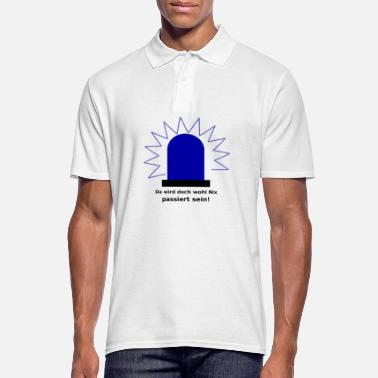 Knights Of St John Blue light there is probably nothing happened - Men's Polo Shirt
