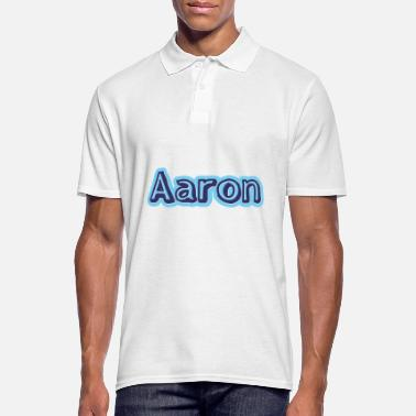 First Name Aaron name first name - Men's Polo Shirt