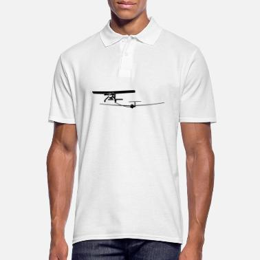 Pilot Glider pilot airplane fly gift - Men's Polo Shirt