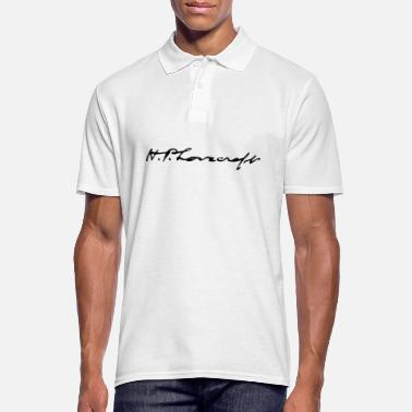 Hp Lovecraft autógrafo HP Lovecraft - Camiseta polo hombre