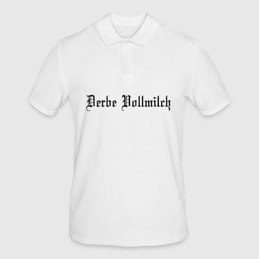 Derbe Vollmilch Bodybuilding Yoga Fitness Workout - Männer Poloshirt