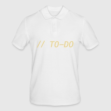 // TO DO - Men's Polo Shirt