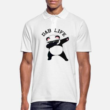 Dab Life - Dabbing Panda - Men's Polo Shirt