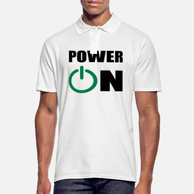 Power power on - Men's Polo Shirt