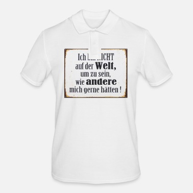 Shield Funny shield - Männer Poloshirt