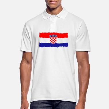 Croatia Croatia flag, Croatia, Croatia flag - Men's Polo Shirt