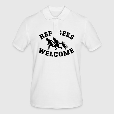 Refugees Welcome - Men's Polo Shirt