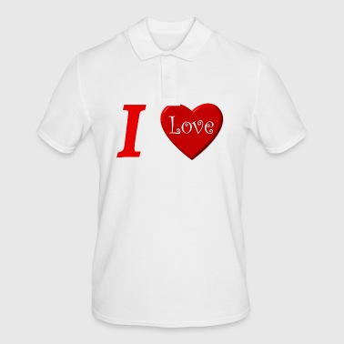 I love I love in Love - Polo Homme