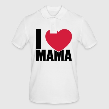 I love Mama - Men's Polo Shirt