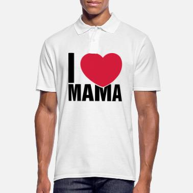 I Love Mama I love Mama - Men's Polo Shirt