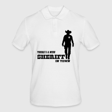 SHERIFF - Men's Polo Shirt