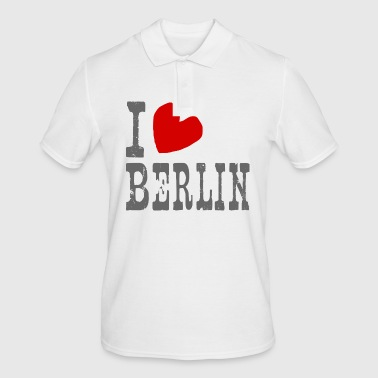 I love Berlin - city of hearts - Men's Polo Shirt