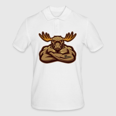 Ace original Moose Mascot - Polo Homme