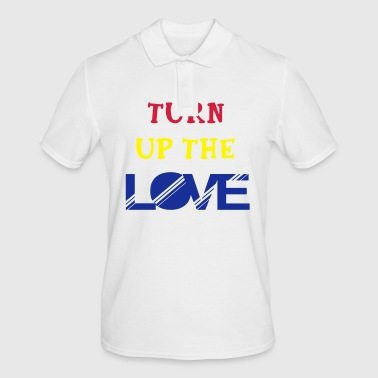 turn up the love - Men's Polo Shirt