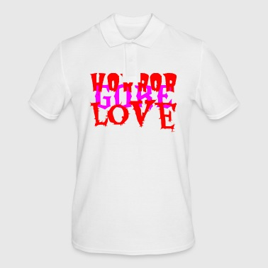 Horror Gore Love Pink - Men's Polo Shirt