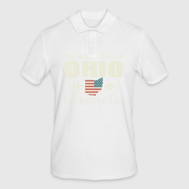 Ohio US State Ohio State of USA Buckeye T-Shirt - Men's Polo Shirt