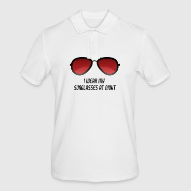Stag Sunglasses by Night Sunglasses / Gift Idea - Men's Polo Shirt