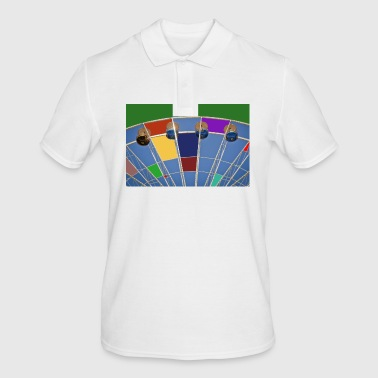 Grande roue d'abstraction - Polo Homme