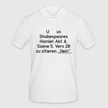 Shakespeare Hamlet NO - Men's Polo Shirt