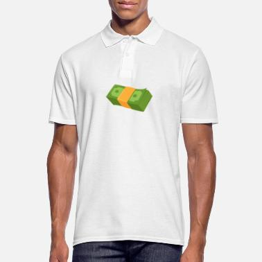 Cash Money Money bundle money cash gift - Men's Polo Shirt