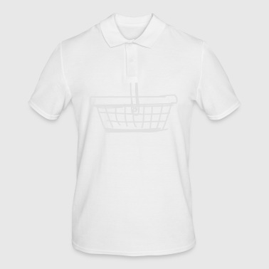 shopping basket - Men's Polo Shirt