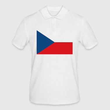 Central Europe Czech Republic flag - Men's Polo Shirt