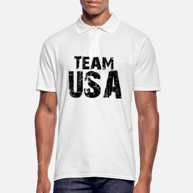 Team Usa Proverbs, USA, Team USA, fun - Men's Polo Shirt