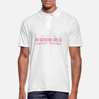 Anti Valentine Anti Valentines Day - Men's Polo Shirt