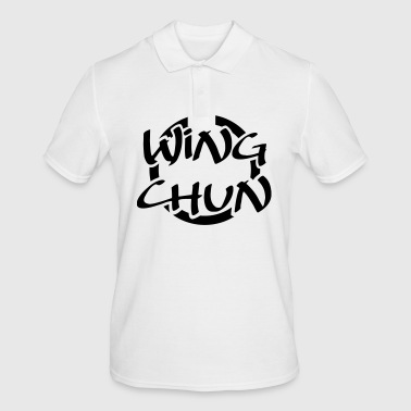 WING CHUN • LOGO-01 - Men's Polo Shirt