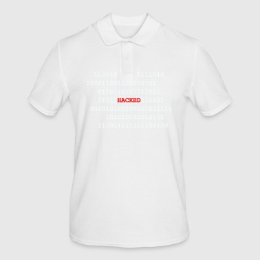 Hack Binärcode Hacked - Men's Polo Shirt