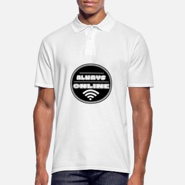 Internet Internet - Men's Polo Shirt