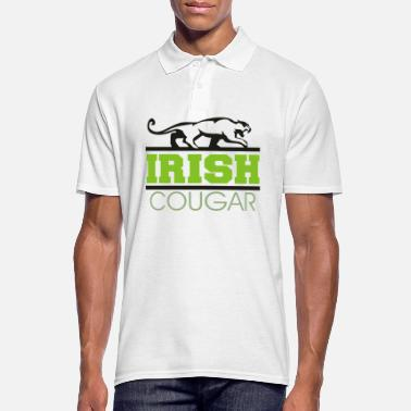 Cougar Irish Cougar Women's - Men's Polo Shirt