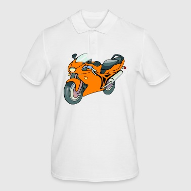 Motorcycle racing motorcycle - Men's Polo Shirt