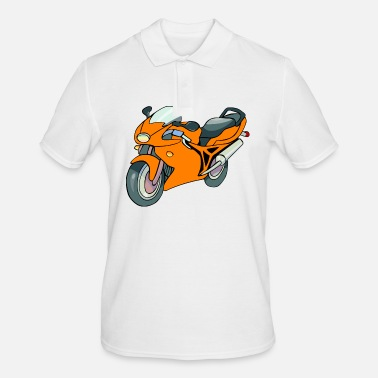 Racing Motorcycle Motorcycle racing motorcycle - Men's Polo Shirt