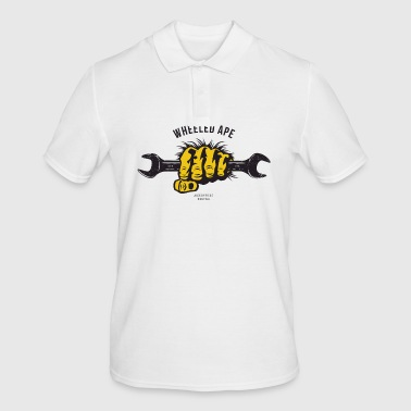 The Two Wheeled Ape APE HANDED - Men's Polo Shirt