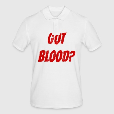 Fantasy / Vampire / Dracula: Got Blood? - Men's Polo Shirt