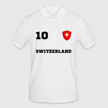 SWITZERLAND team team - Men's Polo Shirt