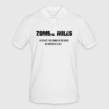 Zombie Zombie: Zombie Rules - # 1 The Zombie In The - Men's Polo Shirt