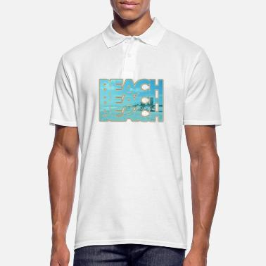 Plage Plage - plage - Polo Homme