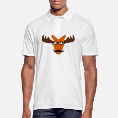 Moose Moose - Men's Polo Shirt