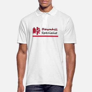 Downhill Downhill - Men's Polo Shirt